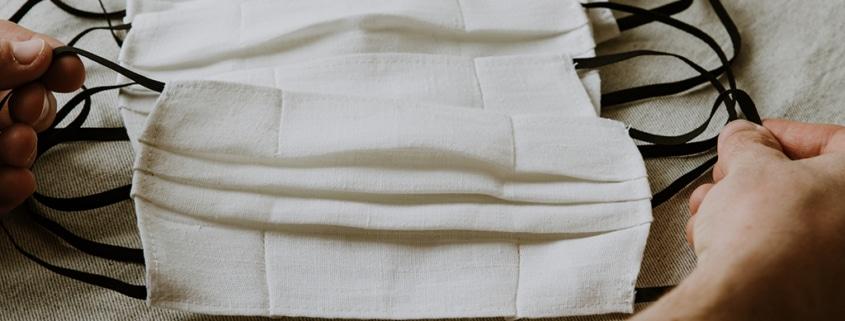 Cubrebocas plisado de tela: cómo usarlo correctamente