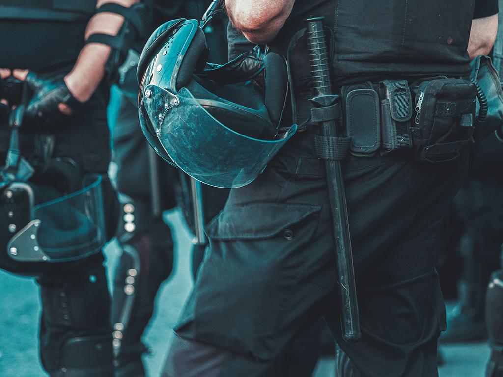 Pantalon Tactico Negro Para Personal De Seguridad Medalla Gacela