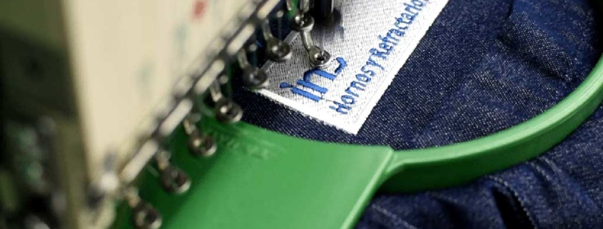 Tipos de bordados para uniformes industriales